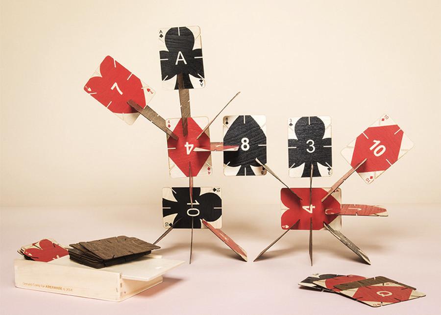 Plywood Playing Cards, Donald Corey